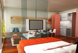 Renders hotel - Buenos Aires