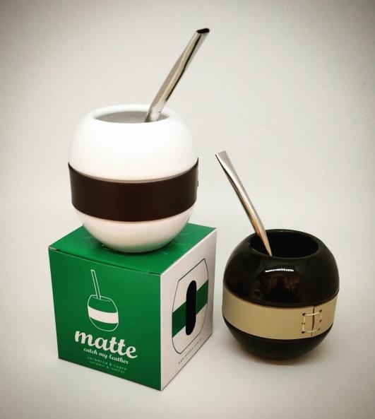 Matte, cerámica y cuero