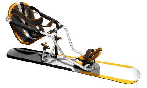 Silla de esqui adaptado